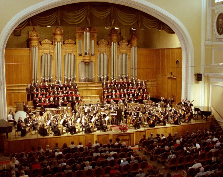 Московская консерватория.  Большой Симфонический оркестр имени Чайковского.  7 марта; 1 ноября 2013.