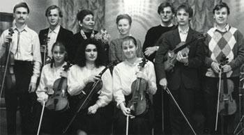После классного вечера в ГМУ им. Гнесиных, 1993 год